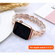 Elegant Stainless Steel strap for Apple Watch band-The Mobi World