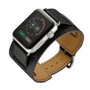 CRESTED Leather cuff strap For apple watch-The Mobi World