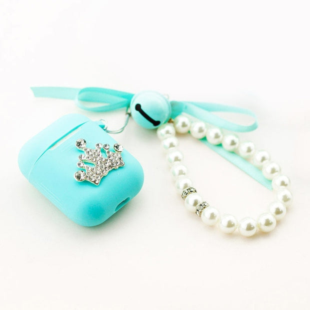 Tiffany blue airpod Case-The Mobi World