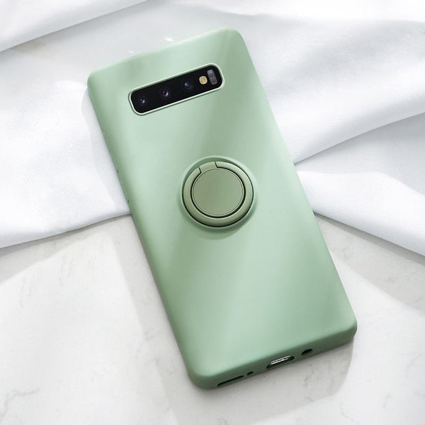 Ring Silicone Phone Case-The Mobi World