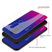 FLOVEME Tempered glass Aurora gradient Collection-The Mobi World