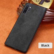 Genuine Cow Suede Leather Phone case-The Mobi World