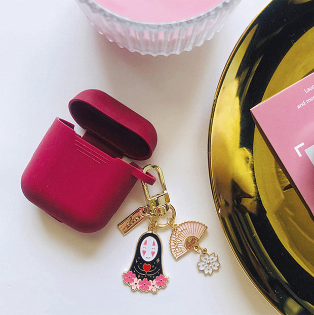 Cute Korean Silicone Case KeyRing-The Mobi World