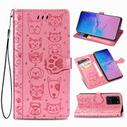 (Pink)Pet Party Leather Case-The Mobi World