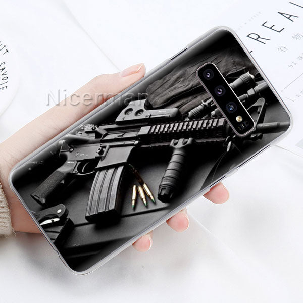 AR-15 Handgun Gun BUllets Phone Case-The Mobi World