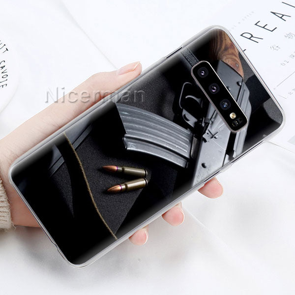 AK47 Handgun Gun BUllets Phone Case-The Mobi World