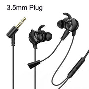 Baseus In-Ear Earphone 3.5mm Jack Type C Wired Gaming Headphones Hi-Fi Earbuds With Microphone-The Mobi World