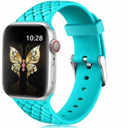 Woven Silicone watch Strap for Apple Watch-The Mobi World