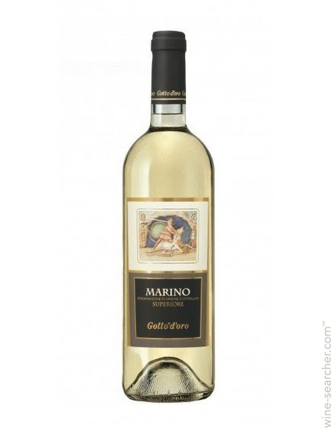 Glass of White Wine (Marino Gotto D'oro)