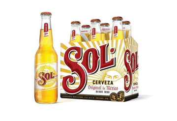 Sol Beer (330 mL Bottles)