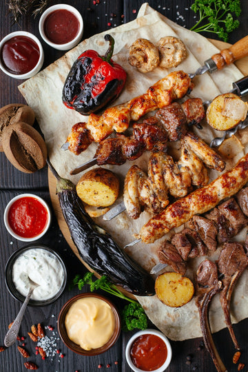Family BBQ Menu (4 person)