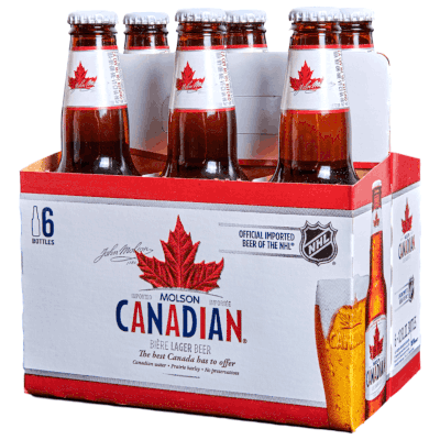 Molson Canadian (341 mL Bottles)