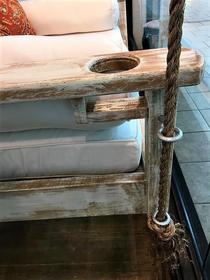 Custom Carolina Hanging Bed 1