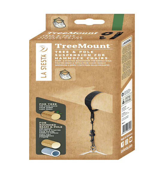 TreeMount - Tree and Pole Suspension for Hammock Chair - HangingComfort