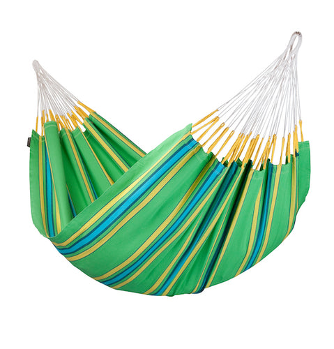 Currambera -Kiwi - Organic Cotton Double Hammock - HangingComfort