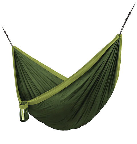 Colibri 3.0 - Forrest - Single Travel Hammock with Suspension - HangingComfort