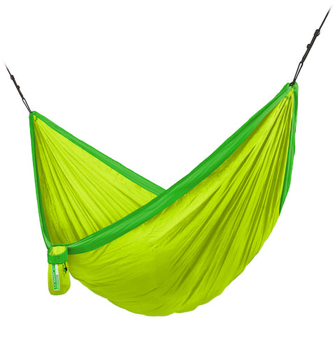 Colibri 3.0 - Palm - Single Travel Hammock with Suspension - HangingComfort