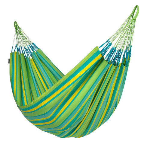 Brisa - Lime  - Weather Resistant Double Hammock - HangingComfort