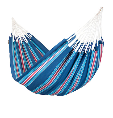 Currambera - Blueberry - Organic Cotton Double Hammock - HangingComfort