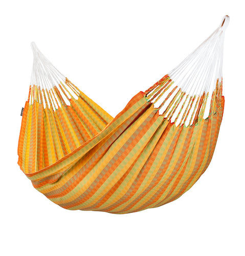 Carolina - Citrus - Organic Cotton Double Hammock - HangingComfort