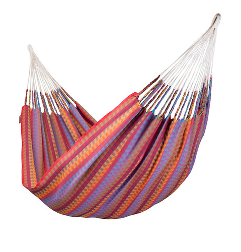Carolina - Flowers - Organic Cotton Double Hammock - HangingComfort