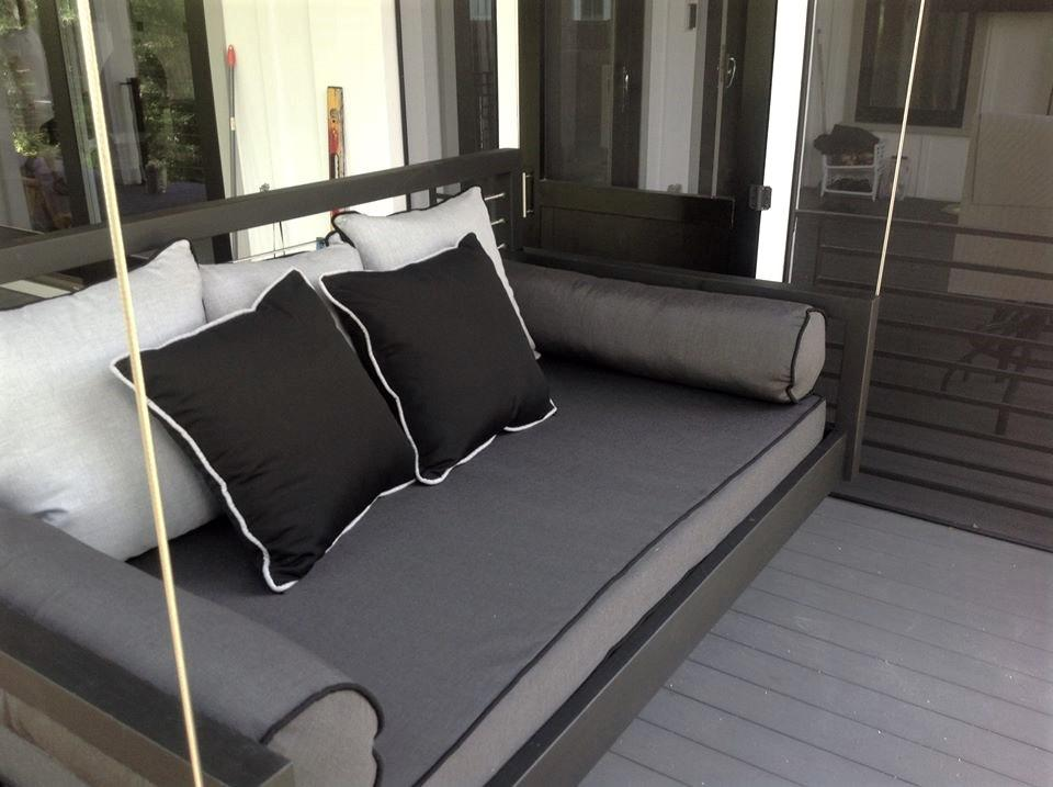 Custom Carolina Hanging Bed Steel Cables