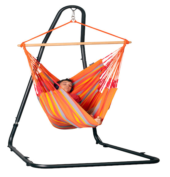Mediterraneo - Powder Coated Steel Stand for Hammock Chairs - HangingComfort
