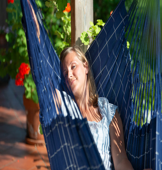 Domingo - Marine - Weather Resistant Hammock Chair - HangingComfort