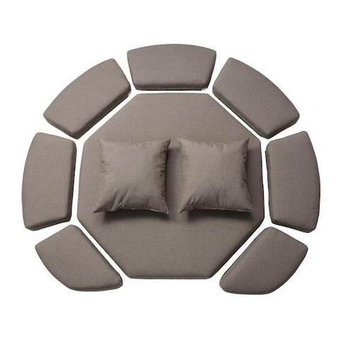 Small KODAMA™ Zome Premium Cushion Set - HangingComfort
