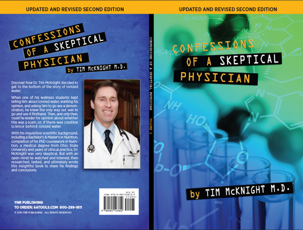 """Confessions of a Skeptical Physician"" by Dr.Tim McKnight"