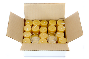 50 Beeswax Tealights