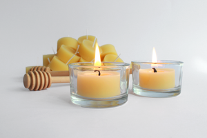 25 Beeswax Tealights