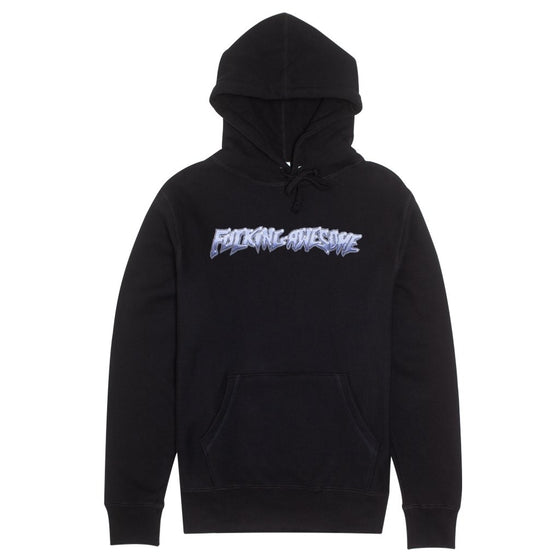 Fucking Awesome Chrome Hoodie Black (Large)