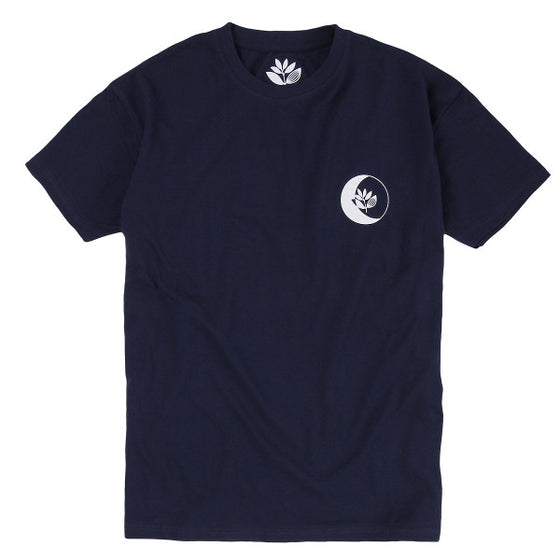 Magenta Moon Tee - Dark Navy