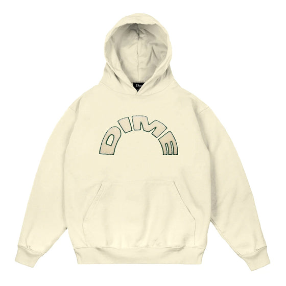 Dime Arch Hoodie Cream Large