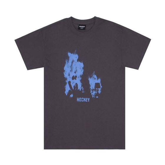 Hockey At Ease Tee Charcoal XLarge