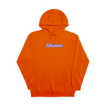 Alltimers Embroidered Broadway Hoodie Orange Large