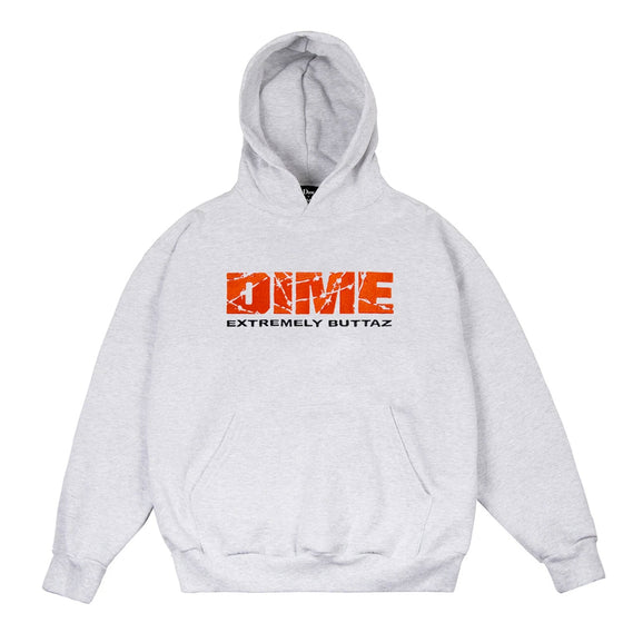 Dime Extremely Buttaz Hoodie Ash Medium