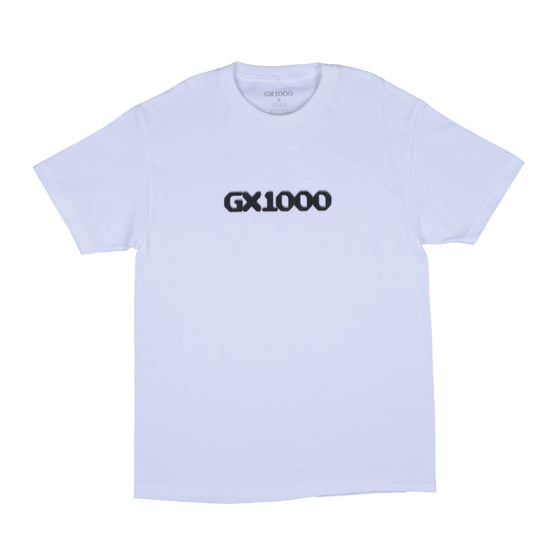 GX1000 - Dithered Logo Tee - White