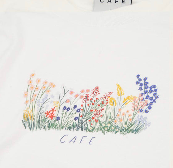Skateboard Cafe Flower Bed Shirt