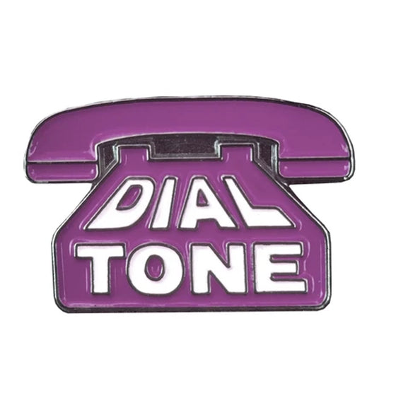 Dial Tone Wheel Co. Lavender Enamel Pin
