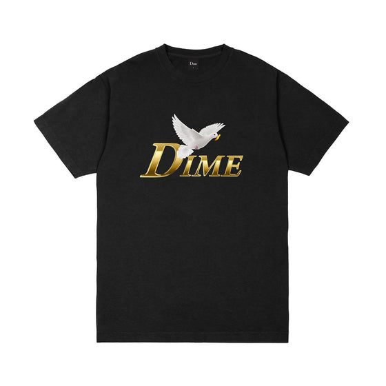 Dime Fry Dove Tee Black Large