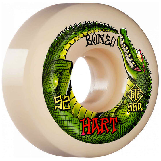 Bones STF Hart Speed Gator V5 Sidecut Wheels 99a 52mm