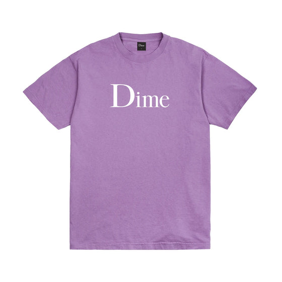 Dime Classic Logo Tee Lavender Large