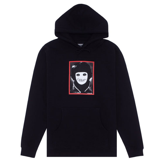Hockey No Face Hoodie Black Large