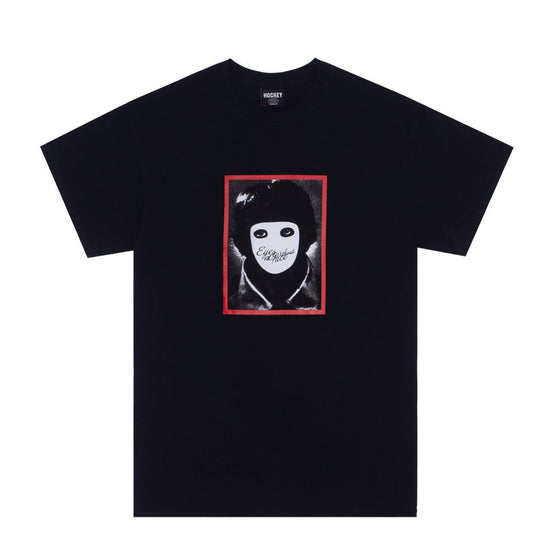 Hockey No Face Tee Black Large