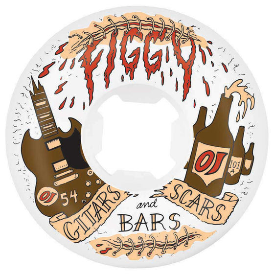 OJ Figgy Guitars & Bars Original Hardline Wheel 101A 54mm