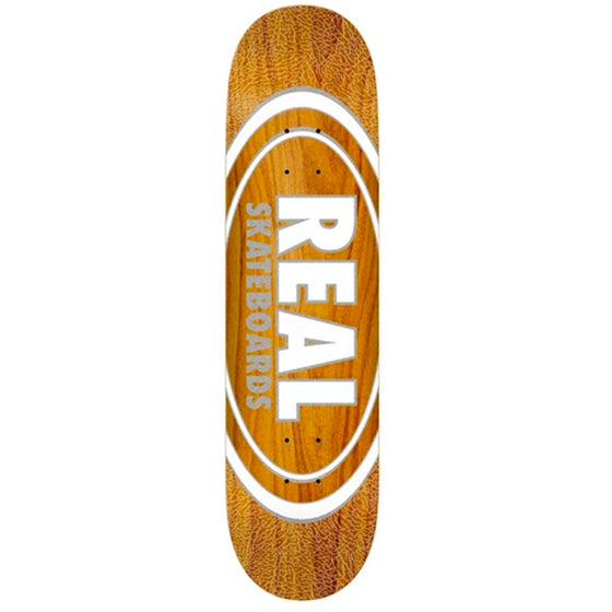 Real Oval Pearl Pattern Deck - Assorted Stains - 8.38