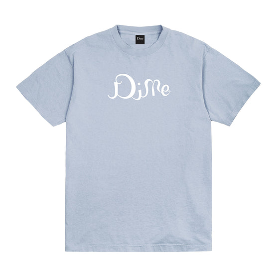 Dime Ritzy T-Shirt - Clear Blue - Large