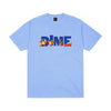 Dime Toy Store Tee Carolina Blue Large